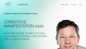 Eckhart Tolle Conscious Manifestation 2020 Free Download –