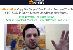 Nick Peroni – One Product Profits (Update 1) Free Download –