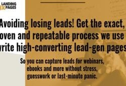 Joanna Wiebe (Copyhackers) – 10X Landing Pages Free Download