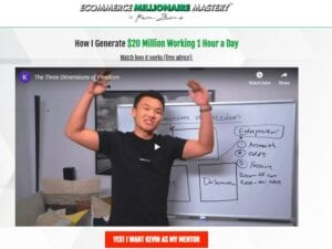 Kevin Zhang – Ecommerce Millionaire Mastery (Update 1, 2 & 3)