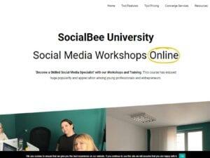 SocialBee University – Social Media Workshops Online