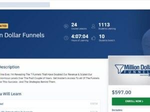 Anik Singal – Million Dollar Funnels
