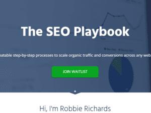 Robbie Richards – The SEO Playbook