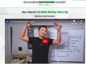 Kevin Zhang – Ecommerce Millionaire Mastery (Update 4)