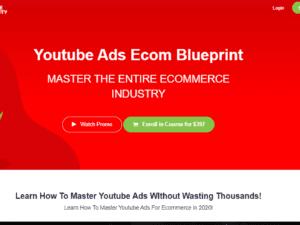 Ricky Hayes – Youtube Ads Ecom Blueprint Free