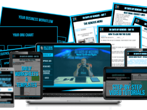 Billy Gene – 30 Days of Geneius – Never Go Broke Again – EXACT STRATEGY OF WHAT I WOULD DO TO MAKE $10K IN 30 DAYS Download