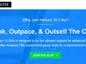 Helium 10 Elite – Amazon FBA Masterminds Update 8 Download