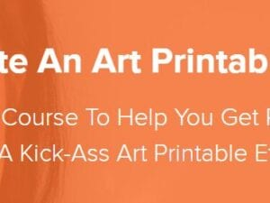 Laura Dezonie – How To Create An Art Printable Etsy Shop