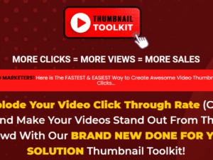Thumbnail Toolkit - More Clicks = More Views = More Sales Free Download