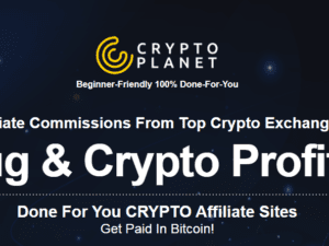 Ariel Sanders - Crypto Planet (Done For You CRYPTOPlanet Affiliate Sites get PAID in bitcoin!) Free Download