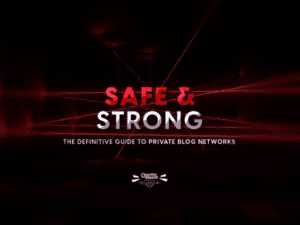 Charles Floate - Safe & Strong The Definitive Guide To Private Blog Networks Download