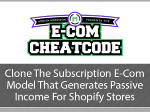 Adrian Morrison – eCom Cheatcode Download